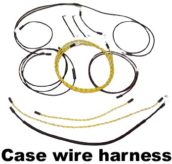 restoration supply case tractor parts reproduction wiring harness for case tractors
