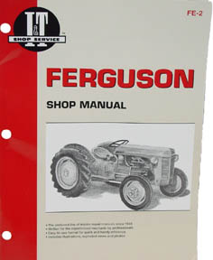 Ferguson tractor shop manual