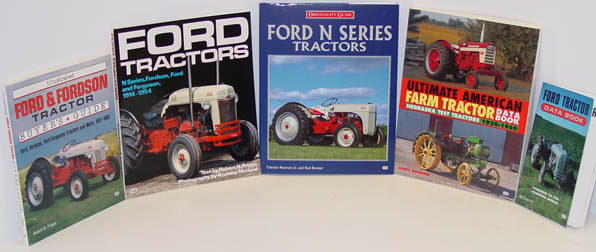 Ford tractor books.
