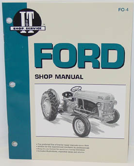 Ford tractor repair manual.