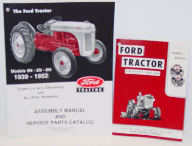 Ford tractor manuals.