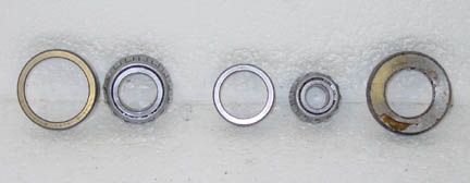 Ford tractor wheel bearings.