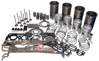 Ford tractor engine overhaul kit.