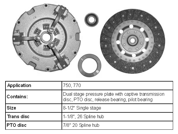 John Deere Tractor Clutch Parts And Kits