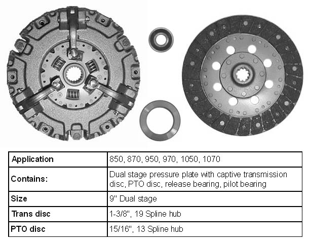 John Deere Tractor Clutch Parts : John deere tractor clutch parts and kits order on line