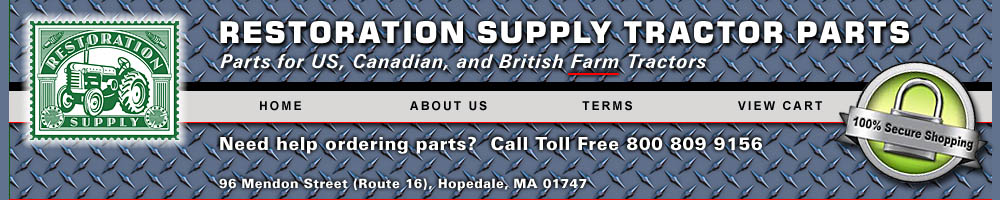 Restoration Supply Tractor Parts
